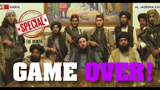 Afghanistan Spezial – was jetzt auf uns zukommt!; Bild: Startbild Youtubevideo Tim Kellner