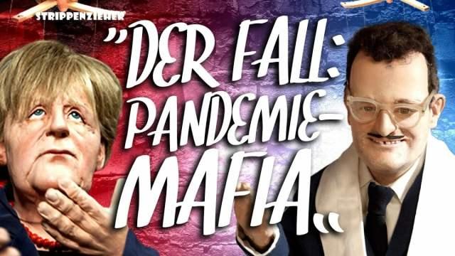 Der Fall: Pandemiemafia   Ist Jens Spahn der Kopf der Familie?   Strippenzieher; Bild: Startbild Youtubevideo RT DE