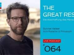 THE GREAT RESET - Die Abschaffung des Menschen | Gunnar Kaiser; Bild: Startbild Youtubevideo