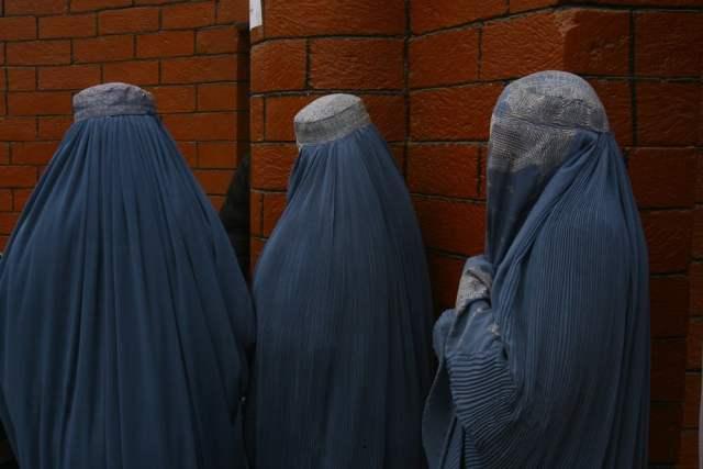 Burka (Symbolbild: shutterstock.com/ Von kursat-bayhan)