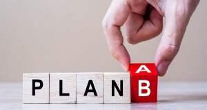 Plan B (Bild: shutterstock.com/ Von Jo Panuwat D)