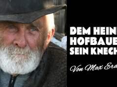 Philosophie: Dem Heinerhofbauern sein Knecht über den sinkenden Durchschnitt