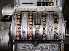 Antike Registrierkasse; Bild: Shutterstock