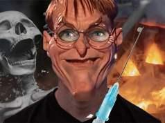 Karl Lauterbach Halloween Maske; Bild: Collage