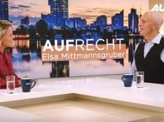 Mag. Elsa Mittmannsgruber im Gespräch mit Dr. Roman Braun; Bild: www.auf1.tv