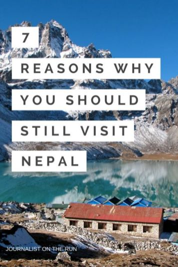Why You Should Still Visit Nepal