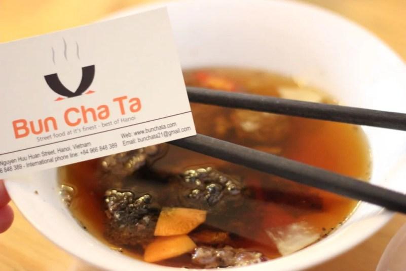 Bun Cha - Stop 1 on our Hanoi Street Food Tour