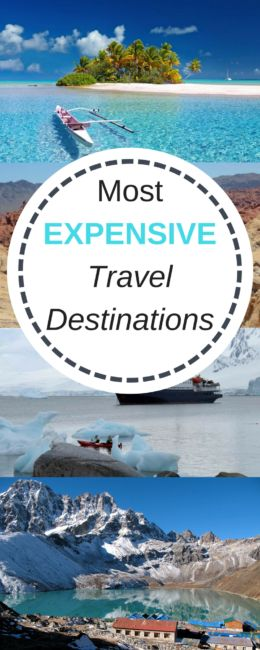 most expensive travel destinations