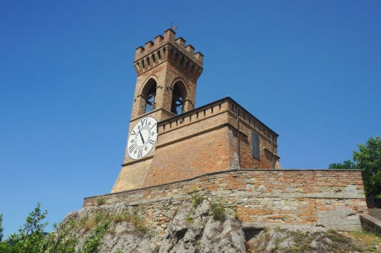 brisighella clock tower