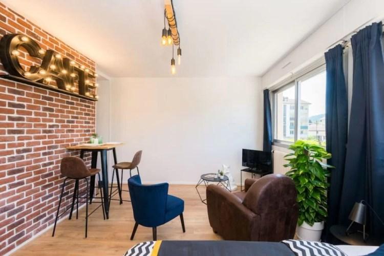 modern airbnb annecy