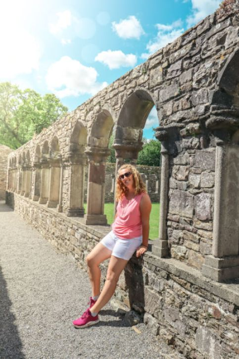 jerpoint abbey arches