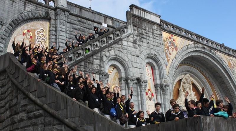Institution Beaupeyrat : Rassemblement à Lourdes