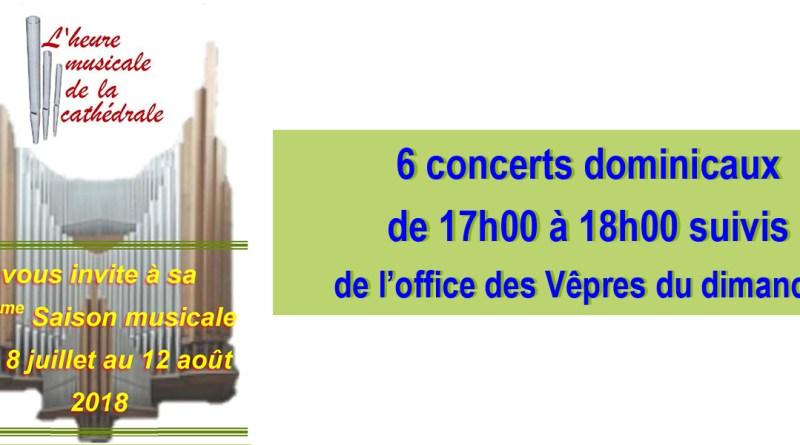 L'Heure musicale de la cathédrale à Limoges