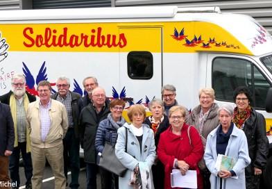 Secours populaire • La solidarité en mouvement grâce au  « Solidaribus »