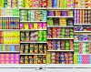 Liu Bolin – Hiding in the City – Puffed Food