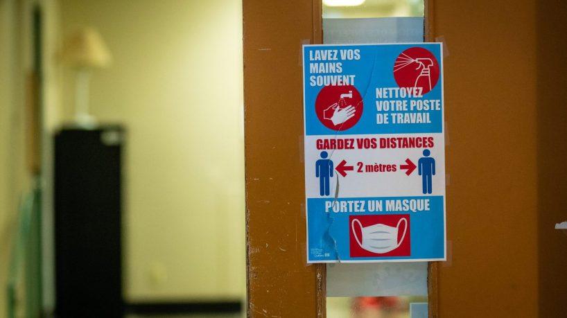 COVID-19: le Québec enregistre une légère baisse des infections