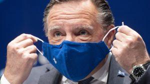 Vers la fin du masque obligatoire au Québec, selon Arruda