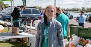 Chloé Fortin, jeune et impliquée pour la cause environnementale