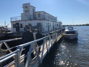 RDP-PAT: la navette fluviale pourrait être remise à l'eau dès juillet