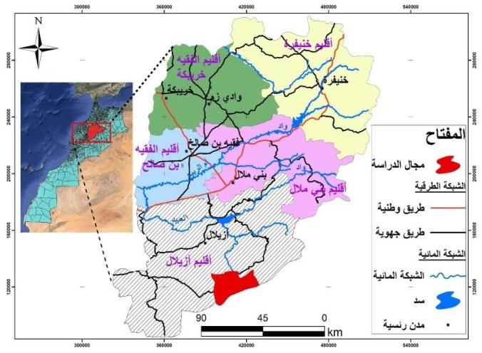 اعتماد نظم المعلومات الجغرافية في تقييم وتثمين المواقع الجيولوجية والجيومرفولوجية، في أفق تنمية السياحة بالأطلس الكبير الأوسط (حالة: آيت بوكماز / المغرب)