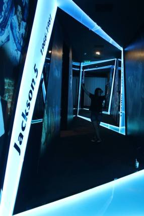 The Michael Jackson Gallery in the hotel Sofitel Macau