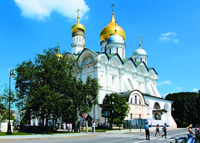 Архангельский собор сегодня