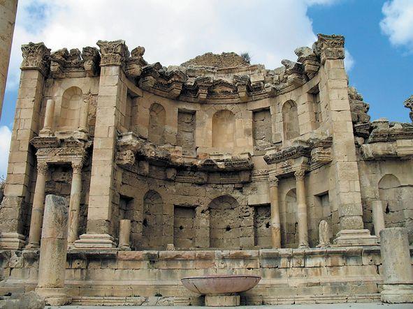 Амфитеатр в Гадаре