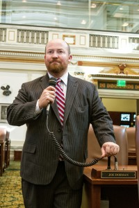 State Rep. Joe Dorman, D-Rush Springs, will explore a run for governor.