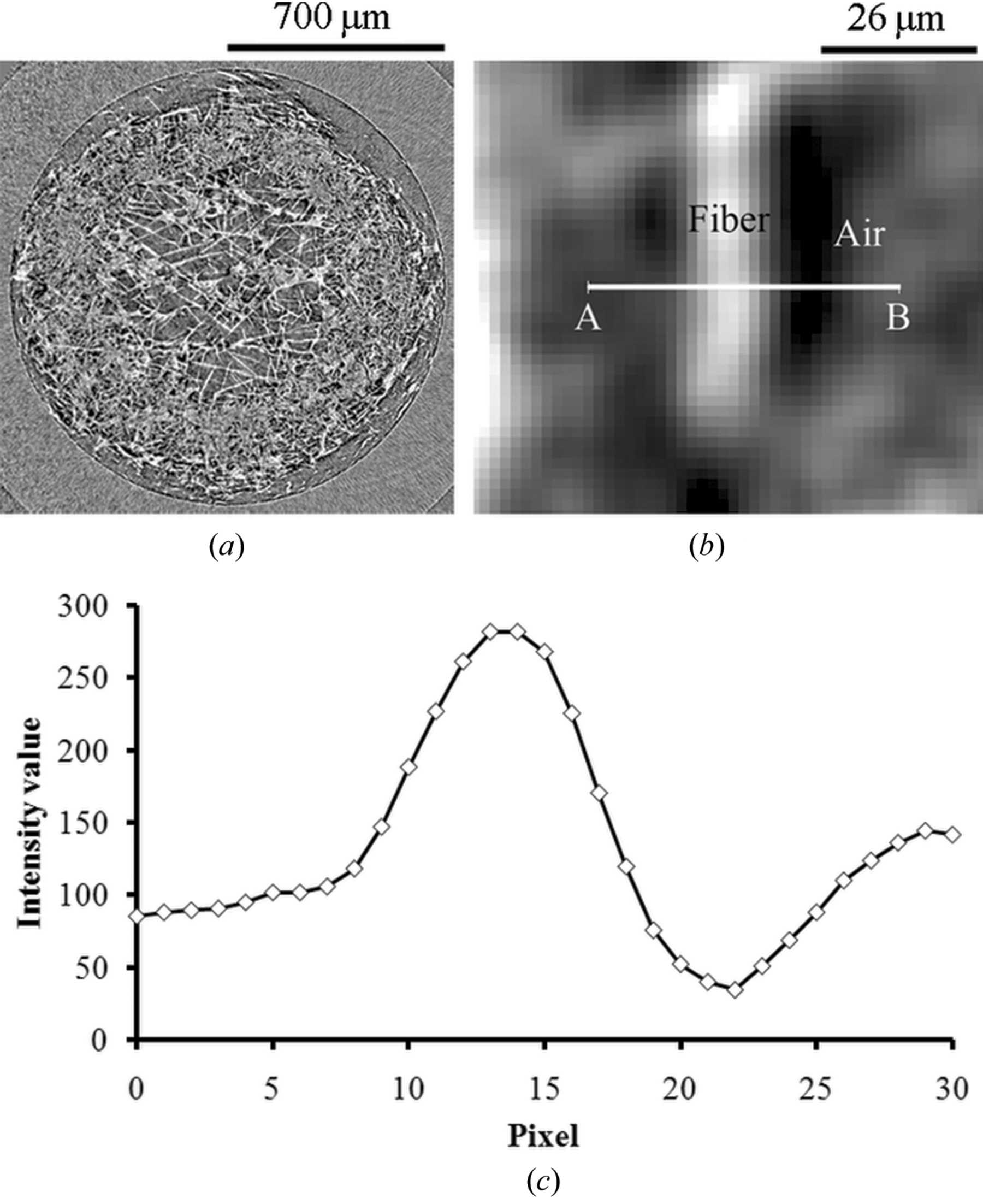 hight resolution of  iucr x ray tomography of morphological changes after freeze thaw in gas diffusion layers