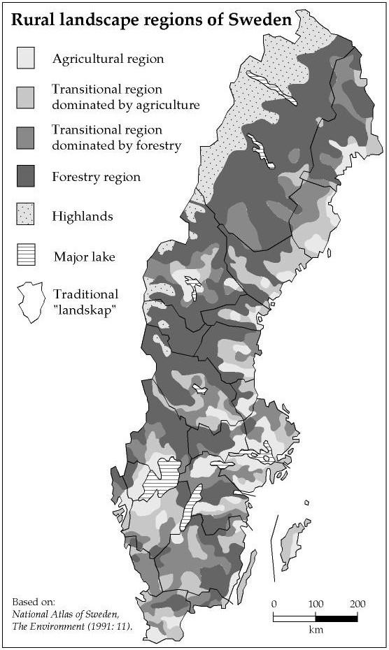 Landscape research in Sweden