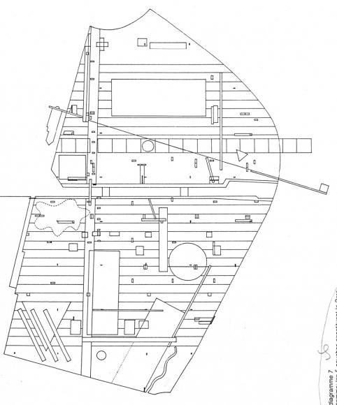 oma parc de la villette diagram of a trench in ww1 langage critique du rem koolhaas projet concours pour le 1982