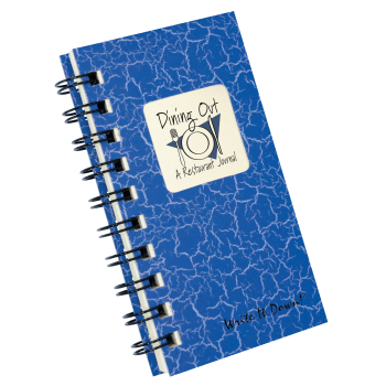 Dining Out A Restaurant Journal log