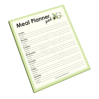 Meal Planner Notepad