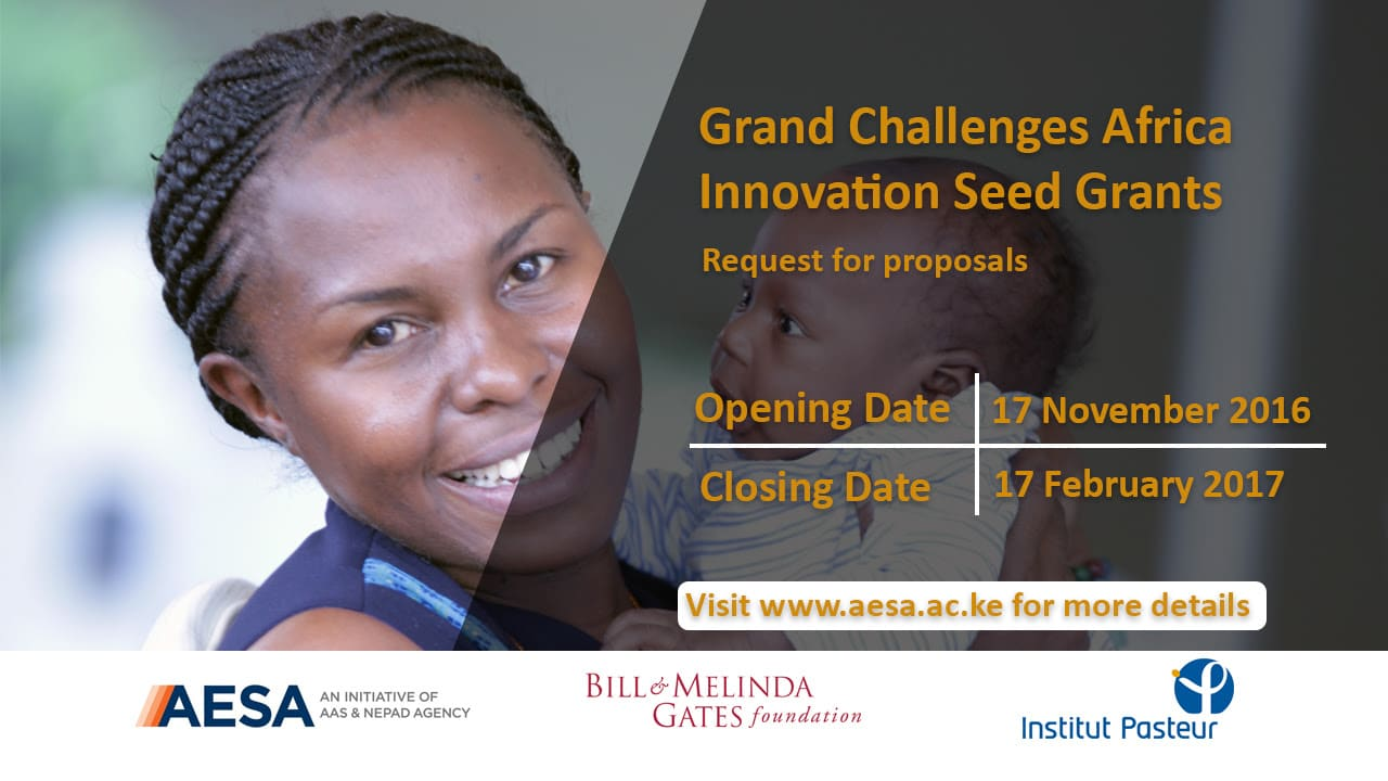 Grand Challenges Africa Innovation Grants