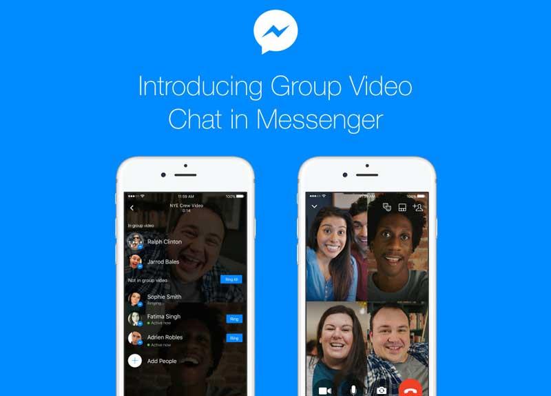 Facebook Messenger lance un chat vidéo