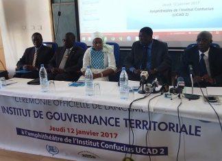 Lancement de l'Institut de la Gouvernance Territoriale