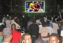 Can 2017 Fan zone esplanade Grand théâtre Dakar