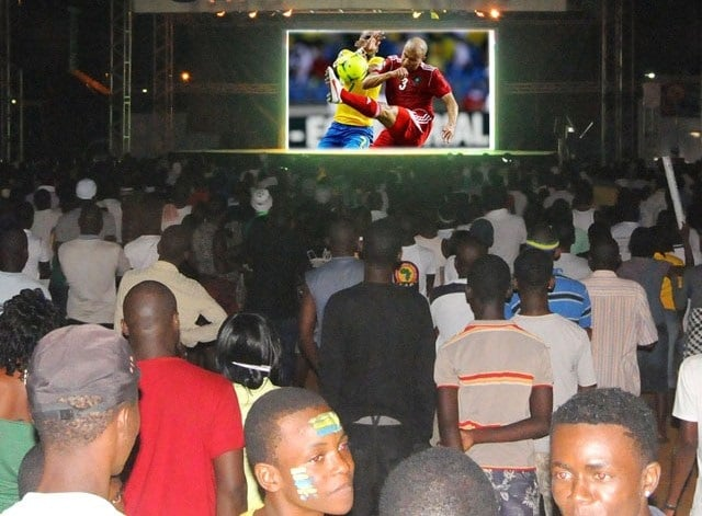 Can 2017 Fan zone esplanade Grand théâtre Dakar