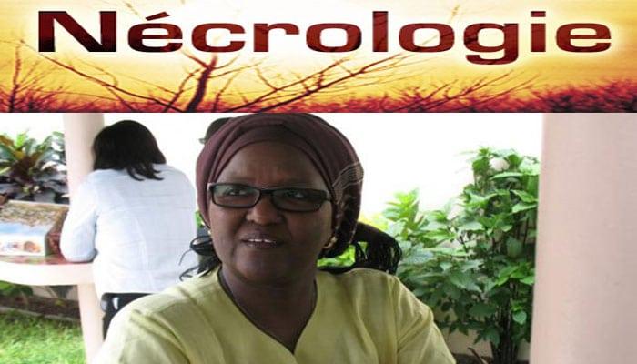 Décès du Professeur Aminata Diaw Cissé