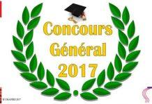 Concours général 2017