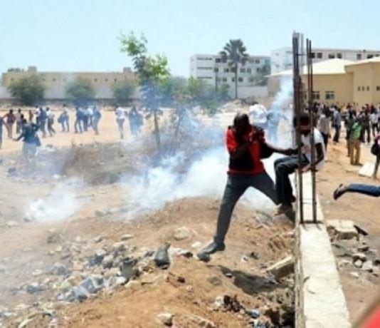 UCAD grève des étudiants