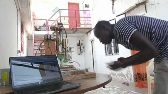 Concepteur de la 1ère imprimante 3D sénégalaise