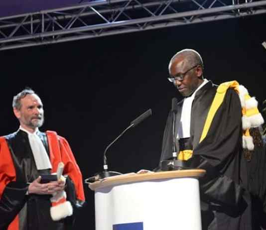 Docteur Honoris Causa à Sciences Po Paris