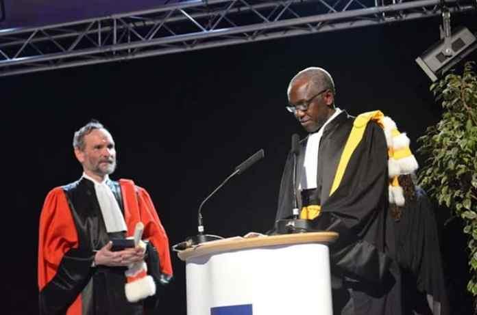 Docteur Honoris Causa à Sciences Po Paris