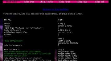 Glossy CSS Controlled Navbar Tabs