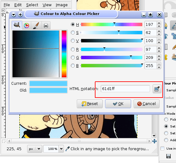 GIMP-Choose-Transparency-Colour2