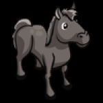 thumbs_animal_horse_gray_icon