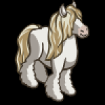 thumbs_animal_horse_gypsy_white_icon