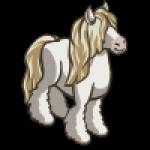 thumbs_animal_horse_gypsy_white_icon