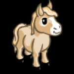 thumbs_animal_horse_mini_cream_icon